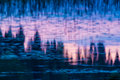 Vibrant backgrounds water reflections for use Royalty Free Stock Photos