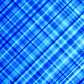 Vibrant blue diagonal lines. Royalty Free Stock Photo