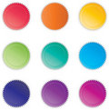 Vibrant Buttons Stock Photos