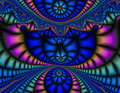Vibrant Fractal Stock Photos