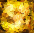 Vibrant gold background made of triangle shapes Stock Photo