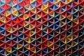 Vibrant inverted pyramids