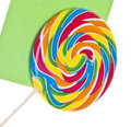 Vibrant Lollipop Stock Photography