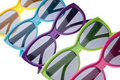 Vibrant Summer Sunglasses Royalty Free Stock Photo