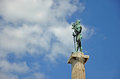 The victor symbol of belgrade famous monument Royalty Free Stock Photos