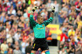 Victor Valdes of FC Barcelona Royalty Free Stock Photography