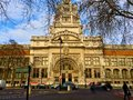 Victoria and albert museum exterior main entrance to the in south kensington london england Stock Images