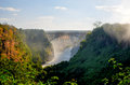 Victoria Falls Bridge Royalty Free Stock Image