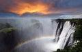 Victoria Falls, Rainbow, Zambia