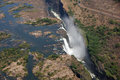 Victoria falls zimbabwe Photos stock