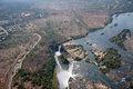 Victoria falls zimbabwe Photo stock
