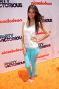 Victoria justice at the iparty with victorious premiere event the lot hollywood ca Royalty Free Stock Images