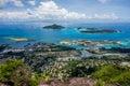 Victoria - Mahe - Seychelles Royalty Free Stock Photo
