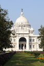Victoria memorial house at kolkata west bengal Royalty Free Stock Image