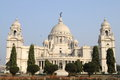 Victoria memorial house at kolkata west bengal Stock Photography