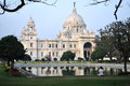 Victoria memorial house at kolkata west bengal india Royalty Free Stock Photos