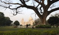 Victoria memorial house at kolkata west bengal india Stock Photos