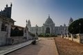 Victoria Memorial, Kolkata , India - Historical monument. Royalty Free Stock Photos