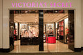 Victoria s secret store in shopping mall a lingerie a these stores are popular and carry items such as perfume cosmetics Royalty Free Stock Photos