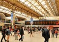 Victoria Station in London, UK Royalty Free Stock Photo