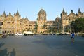 The victoria terminus bombay chhatrapati shivaji cst marathi formerly vt is a unesco world heritage site Stock Photos