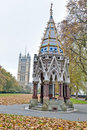 Victoria Tower Gardens at London, England Royalty Free Stock Image