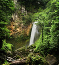 Victoria waterfall (Dominica) Royalty Free Stock Photo