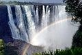 Victoria waterfall zambia zimbabwe is very awesome Stock Photos