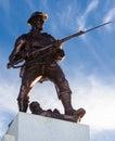 Victoria world war i monument kanada Fotografering för Bildbyråer