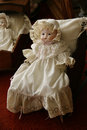 Victorian Antique Doll Royalty Free Stock Photo