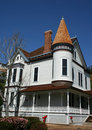 Victorian architecture house San Diego California Royalty Free Stock Photography