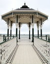 Victorian English bandstand Royalty Free Stock Photo
