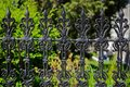 Victorian fence Royalty Free Stock Photo
