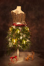 Victorian Festive Christmas Royalty Free Stock Photo