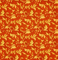 Victorian Floral Fabric Pattern (Seamless) Stock Photography