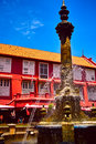 Victorian fountain at malacca the city centre of in malaysia Royalty Free Stock Photo
