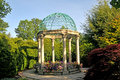 Victorian gazebo Royalty Free Stock Photo