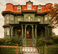 cape may Victorian home Royalty Free Stock Photo