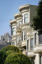 Victorian Houses San Francisco Royalty Free Stock Images