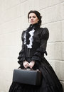 Victorian Lady In Black.