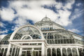 Victorian palm house at sefton park liverpool built by built by mackenzie and moncur in Stock Image
