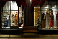 Victorian Storefront at Christmas-  2 Stock Image