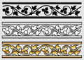 Victorian Style Design Scroll Stock Photography