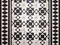 Victorian style floor tile pattern Royalty Free Stock Photo