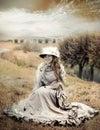 Viktoriánsky štýl žena