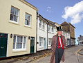 Victorian town gent Royalty Free Stock Photo