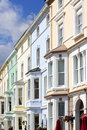 Victorian town houses at Llandudno Royalty Free Stock Photography