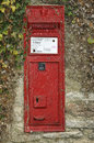 Victorian Wall mounted Post Box Royalty Free Stock Photo
