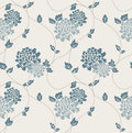 Victorian Wallpaper Tiled Image Royalty Free Stock Photo