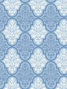 Victorian Wallpaper Vector 4 Stock Image
